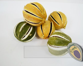 Naturally Dried Whole  Lemons and Limes