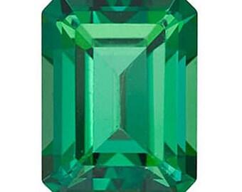 Swarovski Gemstones Rainforest Green Natural Topaz Gemstone Emerald Octagon Shape, AAA Flawless, Jewelry Making