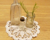 Vintage Glass Bottles Rustic Apothecary Bottle Set of 3 Instant Collection Old Potion Medicine Jars, Pretty Display Piece For Collectors