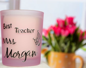Personalised Candle with Gift Box