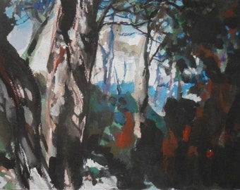 Trees in the South of France