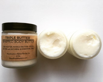 Whipped Shea Butter Whipped Mango Butter Whipped Cocoa Butter