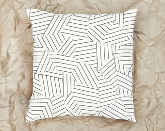 Broken Lines Pillow