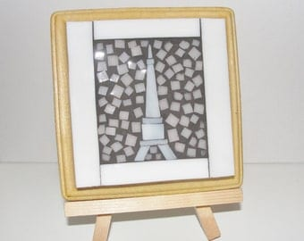 Mosaic Wall Art - Eiffel Tower