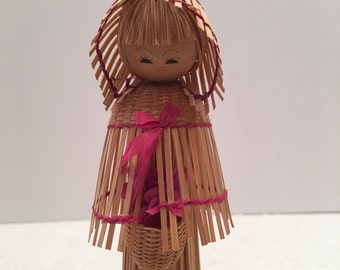 Straw Doll ~ Collectible Doll ~ Vintage