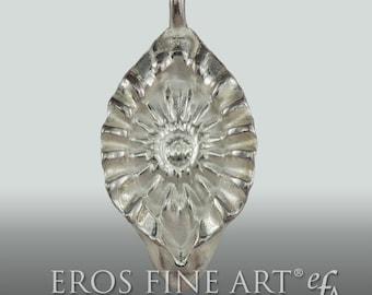 "Exclusive silver pendant  ""Yoni Waves"" -  Erotic jewelry -  tantra  jewelry - Yoni - Sun - Sunflower - Tantra - Kamasutra"
