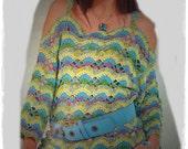 Tunique femme / crochet / sur commande