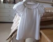 Ebrel Peasant Blouse Girls PDF Sewing Pattern age 2 to 7 years