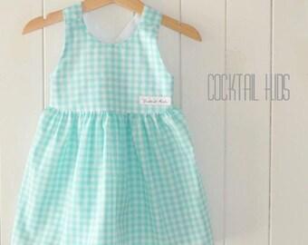 Mint jessie dress