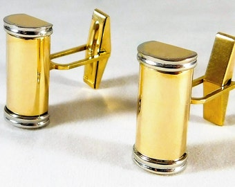 Vintage 14k Solid Gold Cufflinks