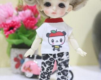 Panda Shirt and Legging For  Lati Yellow / Pukifee  #L020