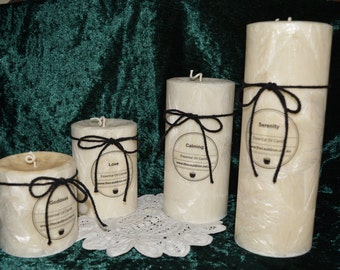 Aromatherapy Essential Oil Candle