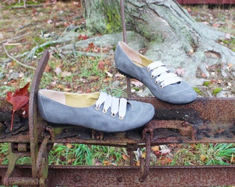 Bostoniano Gray Handcrafted/Cruelty-Free/