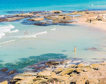 Ocean Photo, Bondi Print, Ocean Wall Art, Beach Wall Art, Wall Art Print, Large Beach Art, Print Beach, Photo Beach, Beach Wall Decor