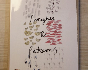Thoughts and Patterns, zine, drawing, storytelling