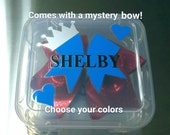 Cheer bow case, Cheer bow box, cheer bow protective case, cheer bow travel case, Personalize bow box, cheerleading bow, cheer bow, cheer box
