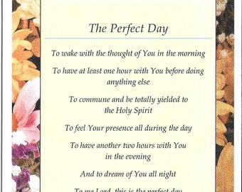 The Perfect Day - Greeting Card