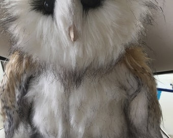 Owl, Plush Toy.