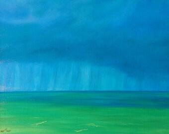 Rain in the keys,ocean,clouds,storms,green water