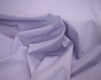 """Threadtex Lilac 100% Cotton EOE Shirting Fabric 44.5"""" Wide Sold By The Yard"""