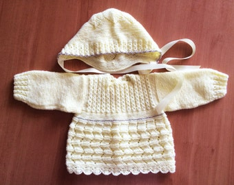 Jesey and hat set for baby