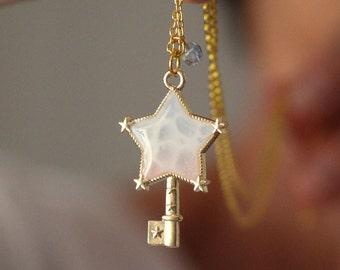 Magical Girl Pastel Ocean Necklace