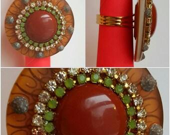 Ethnic charm Ring