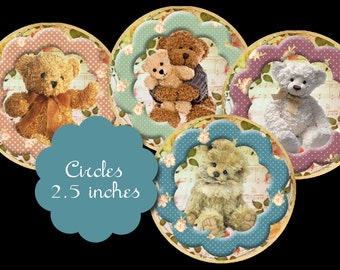 8 Teddy Bear Circles