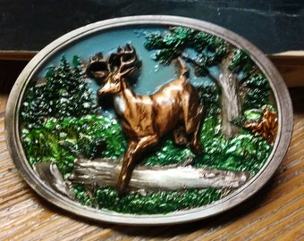 1986 C+J Inc. # 1108 Deer Belt Buckle