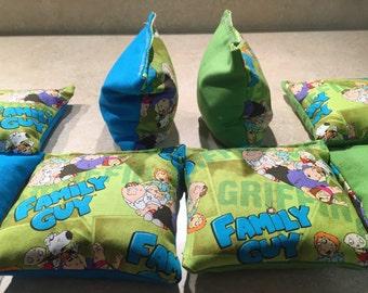Family Guy Bean Bags (set of 8)