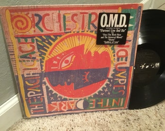 In Shrink O.M.D. Orchestral Manoeuvres in the Dark The Pacific Age LP Record Vinyl