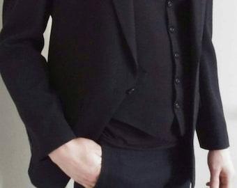 Original 50s Van Gils three piece suit original swag rock and roll suit hipster