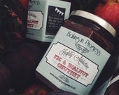 Highly Addictive Fig & Walnut Chutney 12oz Jar. Handmade in UK. Perfect for gifts or wedding favors
