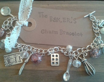 Baking Charm Bracelet Great British Bake Off inspired