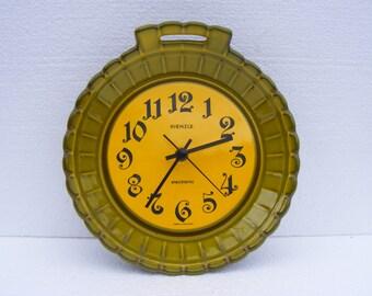 Yellow Kienzle Wall clock