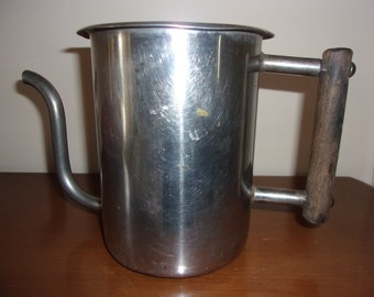 Vintage  Rare Vollrath Goose Neck Tea Pot Server # 7872