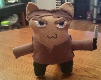 Dexter Morgan Cat Plush