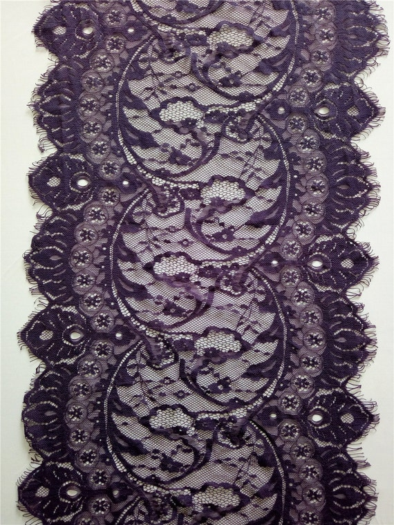 10ft purple lace runner 13 lace table runner for 10 foot table runner
