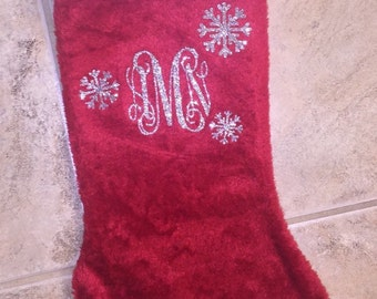Monogrammed/Personalized Stockings!