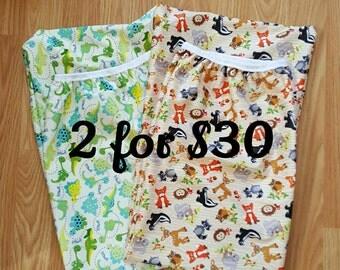 Eco-PUL Diaper Pail Wet Bag - Diaper Genie  Wet Bag - Baby Shower Gift Idea - Cloth Diapering Accessories