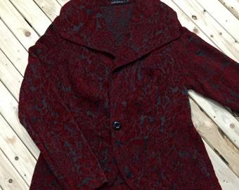 Embossed Velvet Jacket