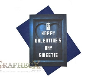 Fan Made Doctor Who Inspired Valentineu0027s Day Card