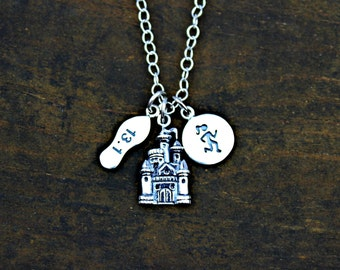 HALF or full MARATHON LUXE Magical Runner Girl Necklace in Sterling Silver