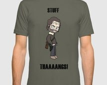 The Walking Dead, walking dead tshirt, stuff and thangs, stuff and things, Rick grimes,