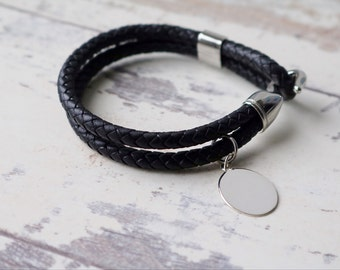Boy's Leather Bracelet