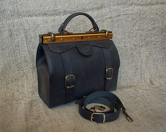 Little Doctor Bag Genuine Leather