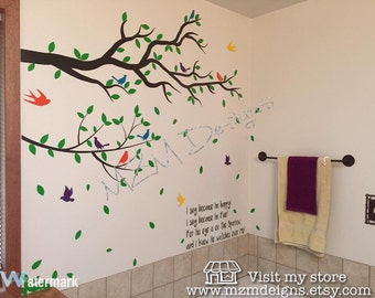 Wall Decal Tree Branch, Wall DecalTree, wall decal, wall sticker, tree wall sticker