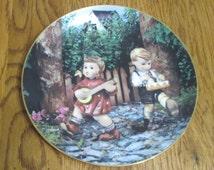Vintage Hummel Plate- Little Companions, Private Parade