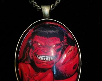 Marvel The Incredible Hulk Red Hulk Large Pendant