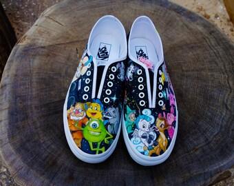 Disney Custom Handpainted Shoes for Ben